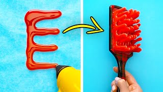 39 TOTALLY WEIRD GLUE GUN HACKS THAT ACTUALLY WORK