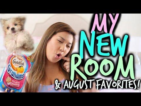 NEW ROOM TRANSFORMATION, K-POP, & MORE! | AUGUST FAVORITES