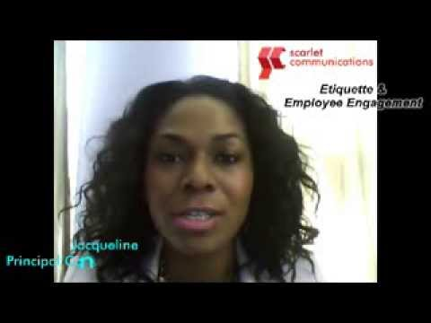 1-Minute With Scarlet - ReRelease - Customer Service Etiquette