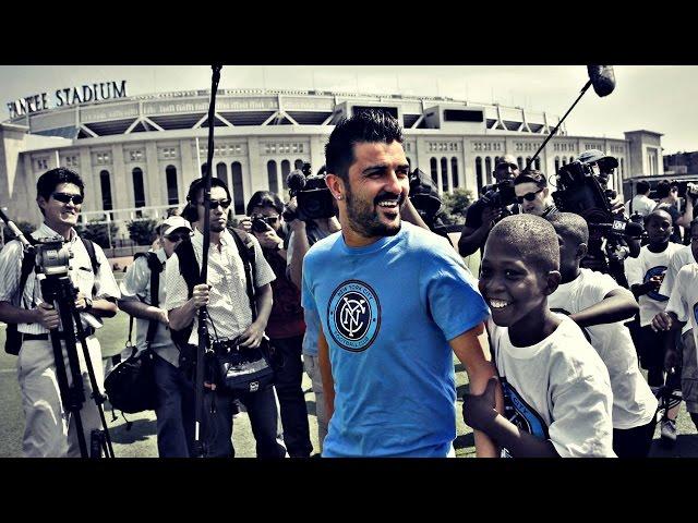 ESPAÑOL: De Tuilla a Nueva York, David Villa es consagra como goleador
