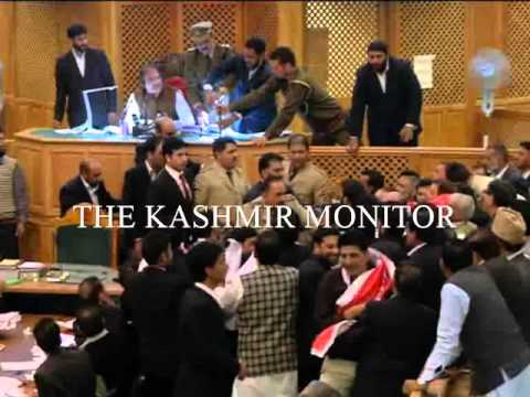 Opposition disrupts J & K Legislative Assembly  Session