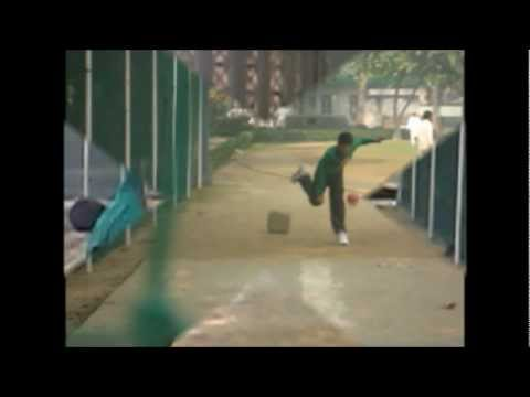Cricket Fast Bowling Techniques, Young Indian Pace Bowler video