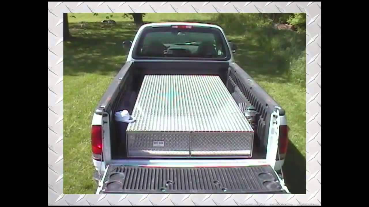 Truck Bed Tool Boxes - The Ultimate Truck Tool box - YouTube