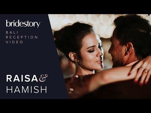 download lagu The Full Video of Raisa Andriana and Hamish Daud Wyllie's Wedding Reception in Bali gratis