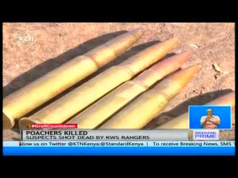 Suspected rhino poachers were shot dead at lake Nakuru National Park