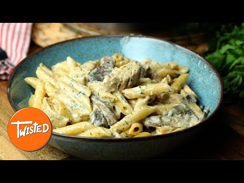 Chicken Mushroom Ranch Penne Recipe | Twisted