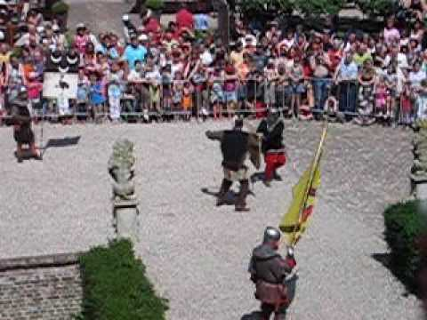 Medieval Champions fight at Castle Huis Bergh 2008