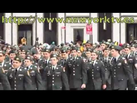 New York News - Sant Patrick´s day - Xavier High School Army