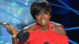 Viola Davis Wins Best Supporting Actress & Gives AMAZING Speech At 2017 Oscars