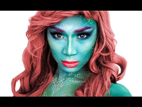 Mermaid Halloween Makeup Tutorial   ThePrinceOfVanity