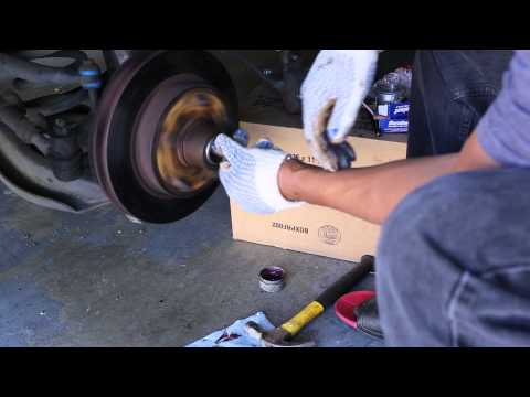 1997 Dodge Ram 1500 Replace front bearings and break pads