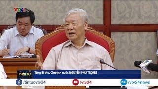 Tổng bí thư, Chủ tịch nước Nguyễn Phú Trọng chủ trì họp Bộ Chính trị | VTV24