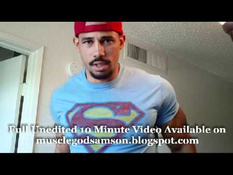 Superman Bicep Flexing: Samson Hero Volume 2 Bodybuilder Samson Williams