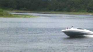 Boating on our Private Lake August 6, 2011 1445hrs