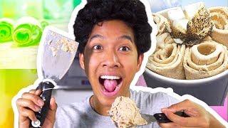 Thai Rolled Ice Cream!!!! DIY FAIL OR NAIL?!