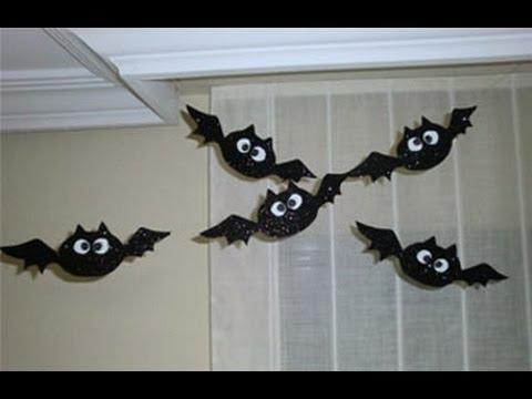 Murcielagos decorativos para halloween decorations for halloween bats youtube - Murcielagos para halloween ...
