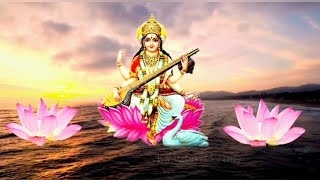 saraswati maa  status new  2019