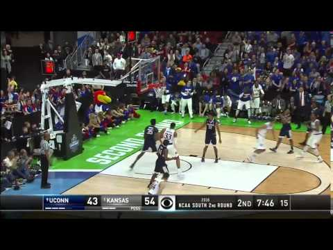 UConn vs. Kansas: Wayne Selden Jr. jumper
