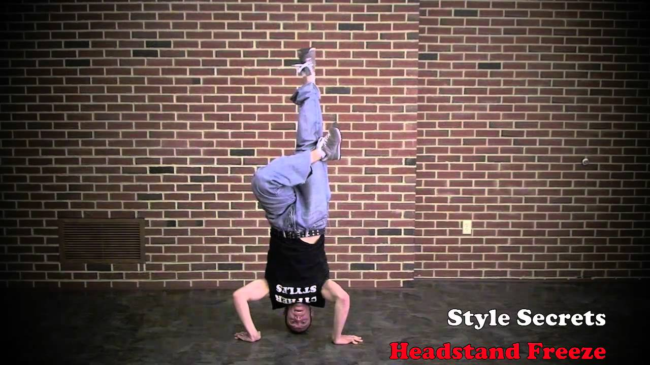 Bboy Handstand Freezes Headstand Freeze Bboy