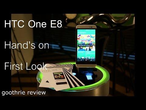 พรีวิว HTC One E8 (Hands-on) สิ่งที่แตกต่างกับ HTC One M8