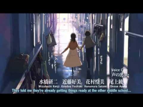[Doppiaggio] Trailer – 5 Centimetri al Secondo