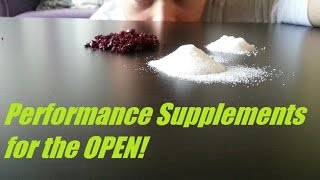 Performance Supplements for the 2015 CrossFit Open!