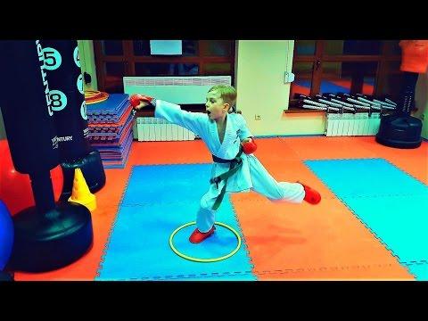 Тренировка кизами цуки, гяку цуки/Kizami tsuki, gyaku tsuki/Shotokan Karate Do/KARATE CLUB SKIF