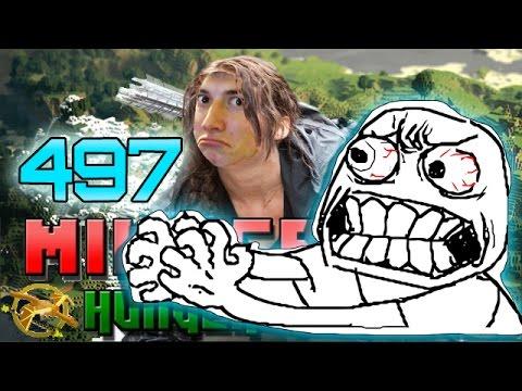 Minecraft: Hunger Games W mitch! Game 497 - Buzz Kill! Rage! video
