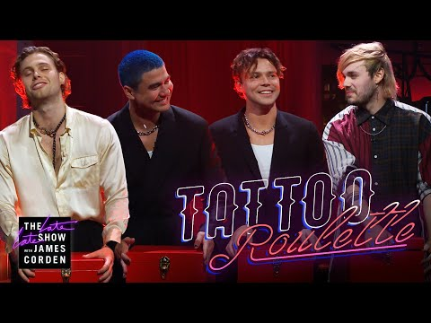 Download  Tattoo Roulette w/ 5 Seconds of Summer Gratis, download lagu terbaru