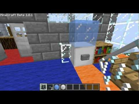 Minecraft office interior youtube for Office design minecraft
