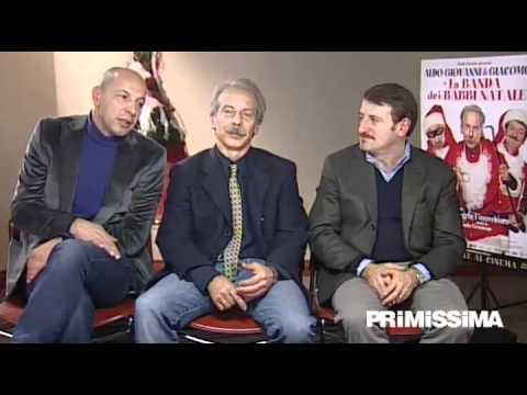 Intervista ad Aldo Giovanni e Giacomo del film La Banda dei Babbi Natale