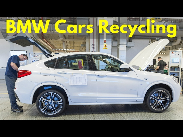 BMW Cars Recycling and Disposal - Fans Will Cry - YouTube