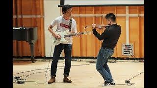 """2019 """"未名春晓·相辉晨曦""""北大复旦纽约春晚 - 小提琴吉他演奏《Contradanza》"""