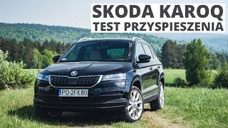 Skoda Karoq 1.5 TSI 150 KM (AT) - acceleration 0-100 km/h