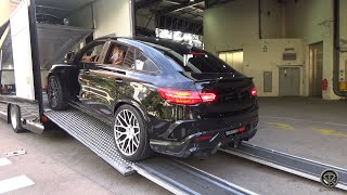 BRABUS GLE 850 6.0 Biturbo Coupe - Cold Start & REVS!