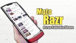 Moto razr 2019 Offical video - A true Motorola Foldable Phone