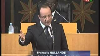 Interview De Francois Hollande Au Senegal