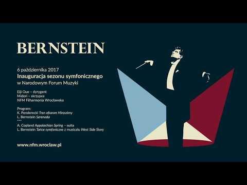Bernstein At 100 | Eiji Oue O Sali Głównej NFM