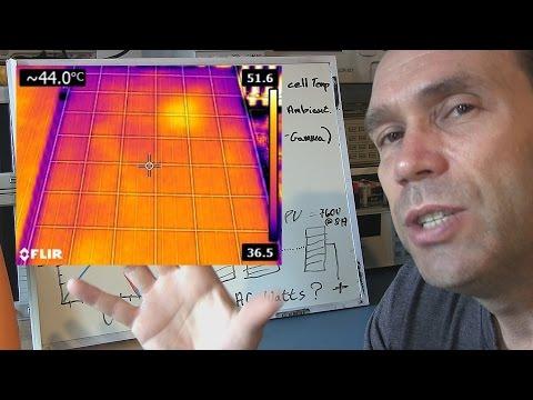 Solar Panel STC, PTC Performance Tests and Datasheets