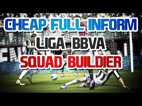 CHEAP FULL INFORM LIGA BBVA SQUAD BUILDER - FIFA 14 ULTIMATE TEAM