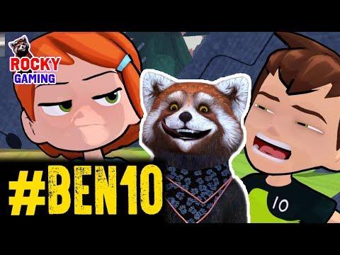 РОККИ играет в BEN 10! Часть 6: конец приключения?!