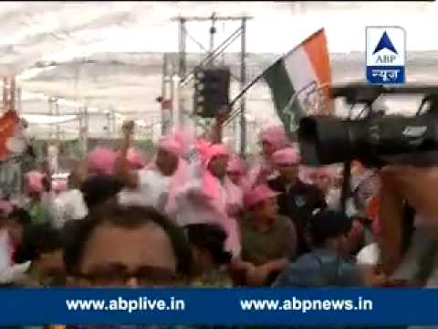 Congress Kisan Rally in protest of NDA's land Acquisition Ordinance