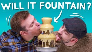 Ultimate Fountain Challenge #3 (Coffee, Soup, Ice Cream)