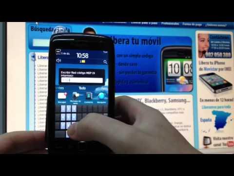 Liberar Blackberry 9860 Torch de Movistar. Yoigo u Orange