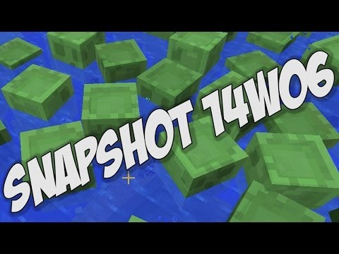 Minecraft 1.8: Snapshot 14w06 Notch Apple Achievement NEW Mob A.I. Better Spectator Mode