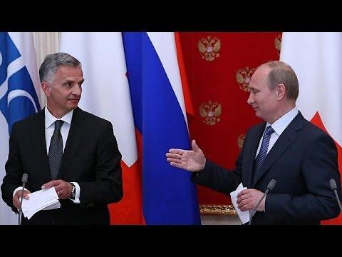 Putin supports Ukraine election on May 25
