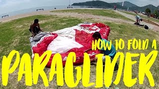 How to fold a Paraglider perfectly S02E15