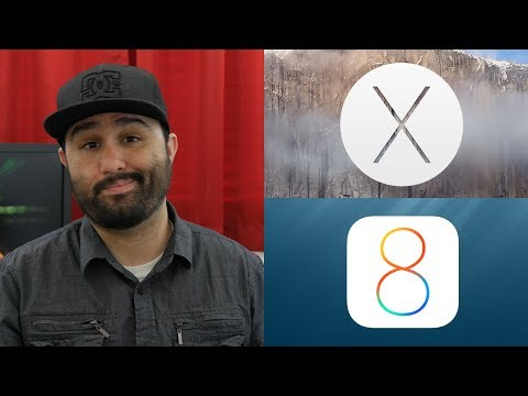 iOS 8 OS X Yosemite: Whats New