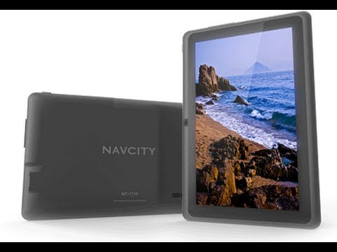 review tablet navcity  NT-1710