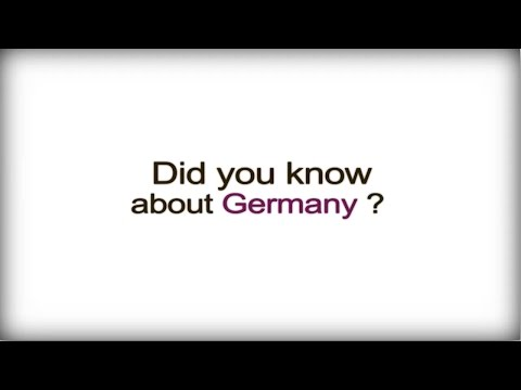 Did you know? - Germany - German Business Culture video